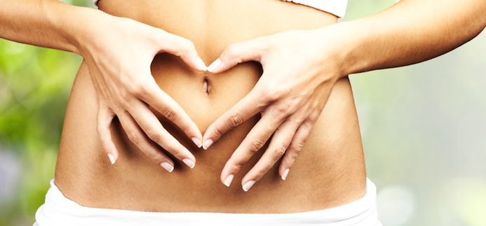 abdominal therapy for glowing skin
